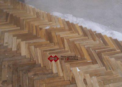 25 pisos en madera maciza25